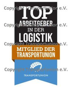 Arbeitgebersiegel der Transportunion